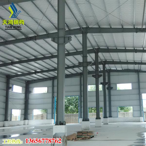 温州天鸿钢构:钢结构厂房包边安装注意密封性